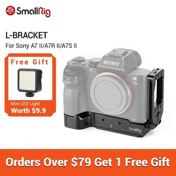 SmallRig a7ii L-Bracket Plate for Sony a7 II/a7R II/a7S II Camera Arca-Swiss Standard Quick Release L Plate Mounting Plate -2278 neewer gn60 2 4g manual hss master slave flash speedlite for sony a7 a7s a7sii a7r a7rii a7ii a6000 a6300 a6500 a77ii a58 a99