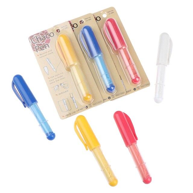 Купить 1 шт ручка для мела по ткани маркер портновские мелки шитья картинки цена