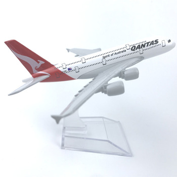 Australian QANTAS Airlines Airbus A380 Aircraft Model 6 Metal Airplane Diecast Mini Moto Collection Eduactional Toys 16cm 787 a380 747 777 airlines metal alloy model plane aircraft toy wheels airplane birthday gift collection desk toy