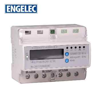 Three Phase Smart Phone App Control WiFi energy meter din rail RS485 communication smart electric meters
