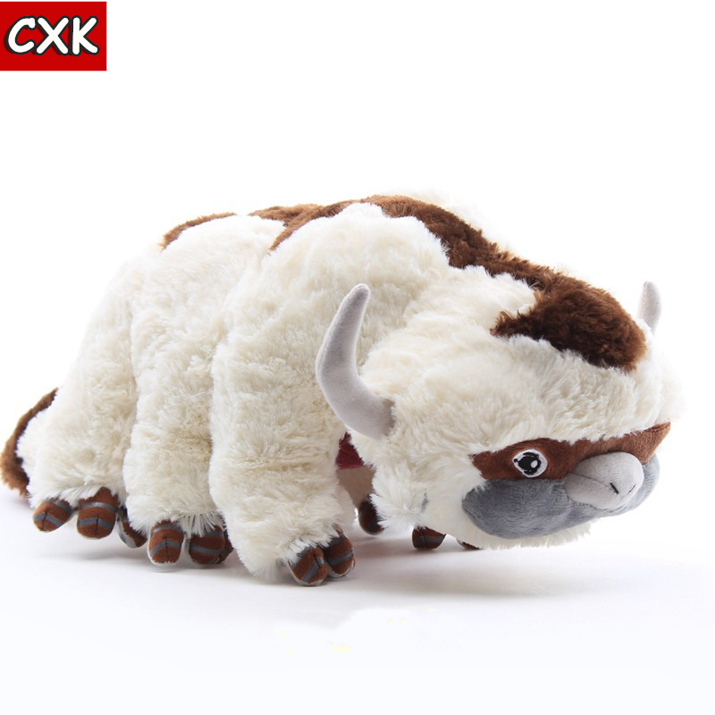 <font><b>avatar</b></font> the last airbendering Big Size Anime Kawaii <font><b>Avatar</b></font> 2 <font><b>Aang</b></font> Resource 50CM Appa Stuffed Animal Fluffy plush Toy Cuddly Doll image