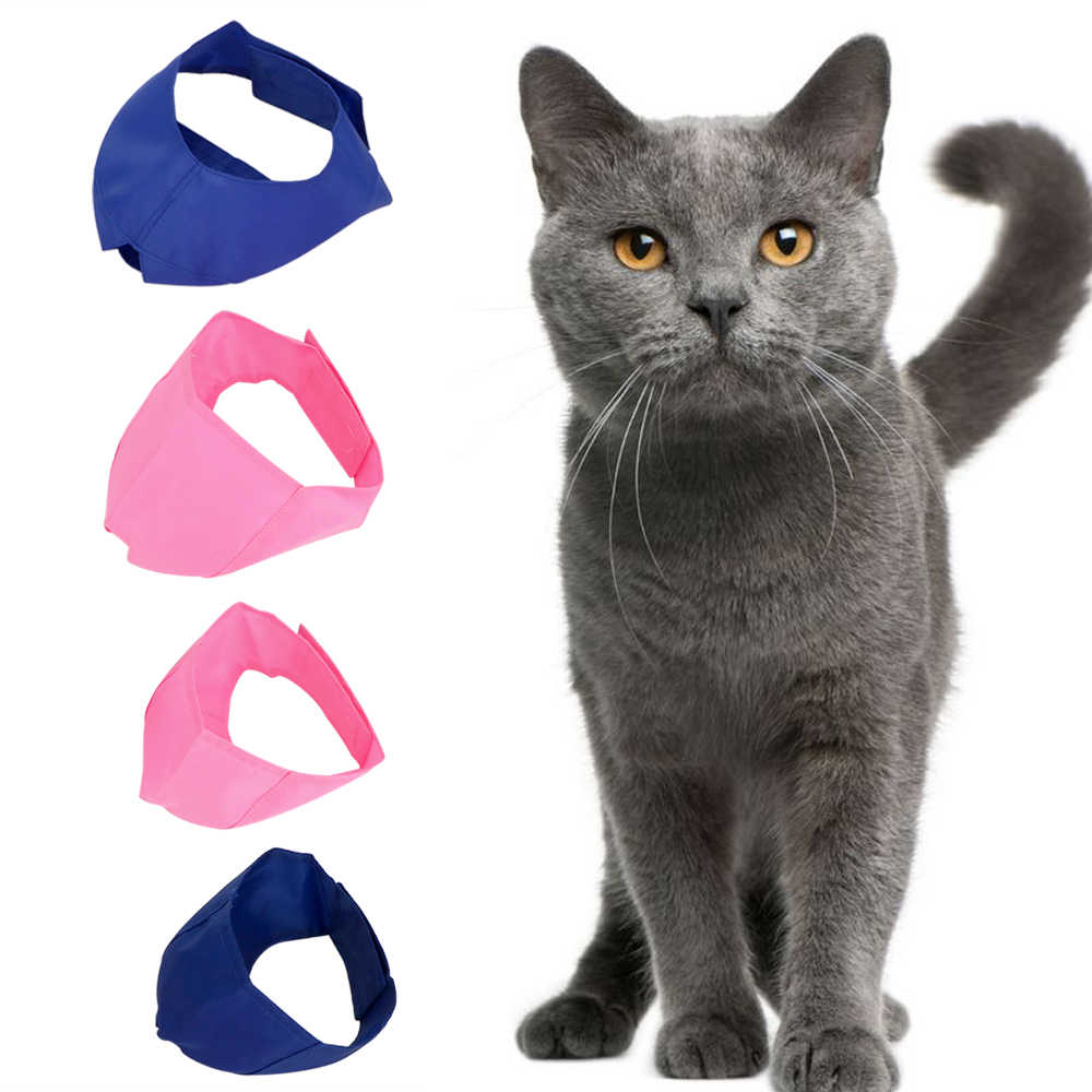NICEYARD Cat Protective Cover Muzzle Blindfold Patch Pet Eye Mask Beauty Grooming Cat Bath Cosmetic