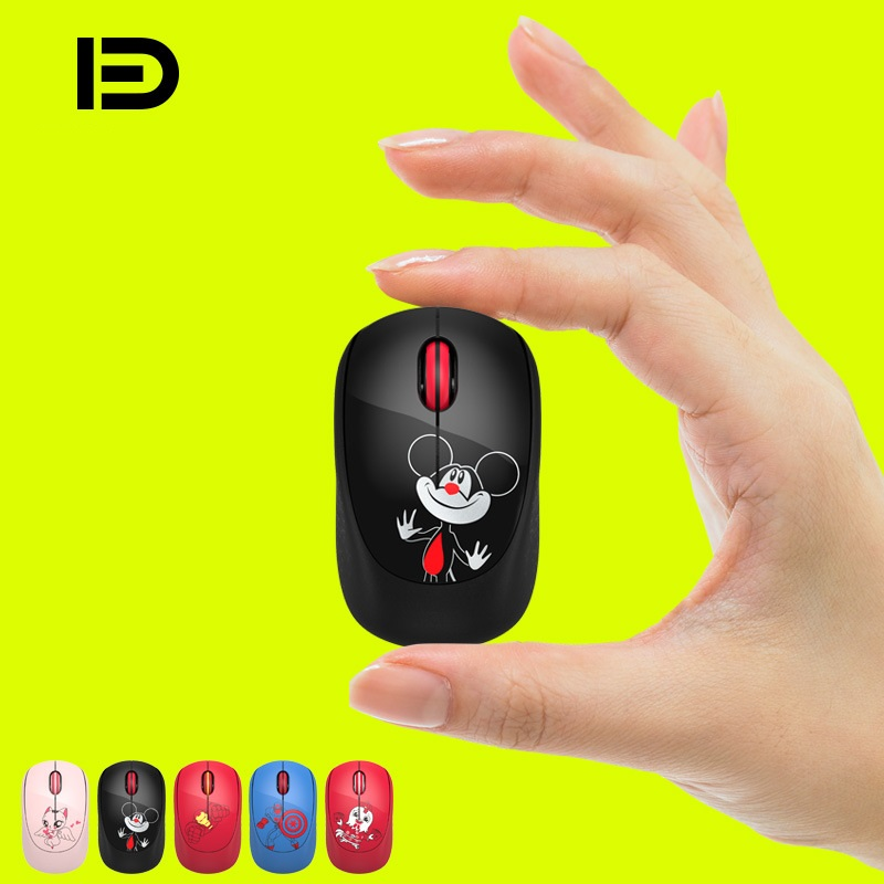 Fashion Mickey Hero Captain USB Wireless Mouse Optical 1600DPI Computer Mouse 2.4GHz Ergonomic Mice For Laptop PC Mouse