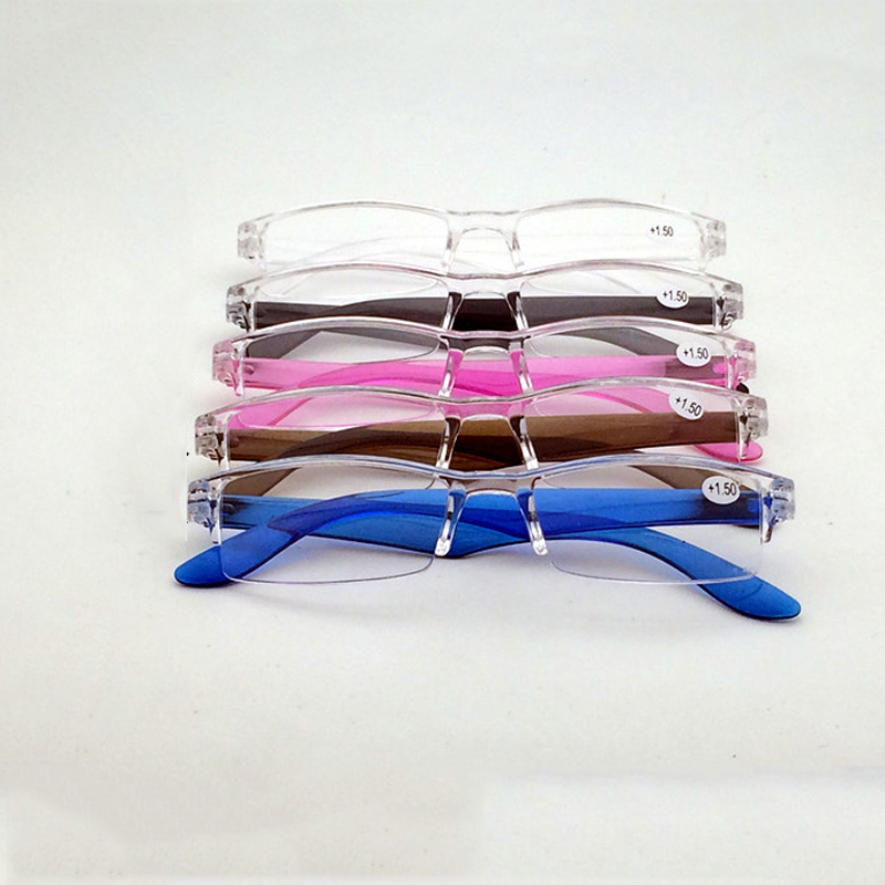 Oculos Ultra light Reading Glasses Presbyopic Glasses Fashion  oculos Full Frame +1.0 +1.25 +1.5 +1.75 +2.0 4.0 Portable