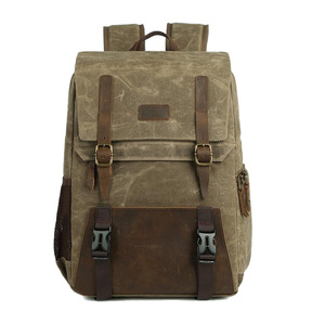Image 3 - Batik Canvas Photography Camera Backpack Tripod Bag Padded Water resistant Lens Case for Nikon/Canon/Sony SLR Camera Accessories