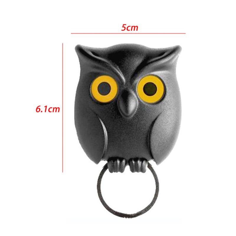 Owl Shape Key Hook Wall Hook Key Holder Wall Hooks Key Holder Night Owl Magnetic Wall Key Holder