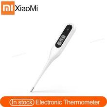 Orijinal Xiaomi Miaomiaoce dijital tıbbi termometre çocuk yetişkinler ağız koltukaltı sıcaklık klinik tespit güvenli