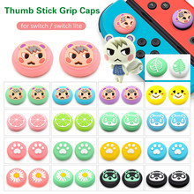 Cubierta de goma para mando de Animal Crossing Marshal, Thumb stick para mandos de Switch Lite, Joycon