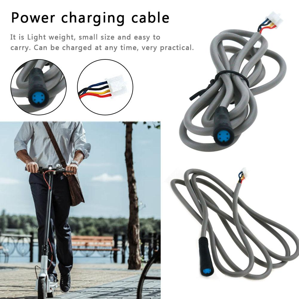 1.2m Charging Cord 42V Charger Parts Power Cable For XIAOMI M365 Electric Scooter Power Adapter Parts Charger Line Plug