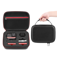 Hard Case Portable Storage Bag for Insta360 ONE R Action Camera Wrist Carring Cases Suitcase For insta360 one r Accessories