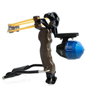 Image 2 - למבוגרים עוצמה יעד ירי הקלע עם מתקפל יד בליסטרא מקצועי האנטר ציד דיג קלע Shot