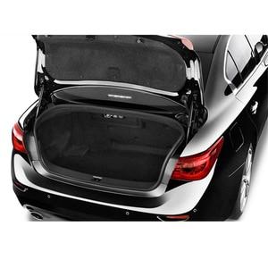 Image 5 - 2 pçs carro tronco elevador suporta suportes choques porta traseira do carro suporte haste para infiniti q50 w/o spoiler 2014 2018 acessórios