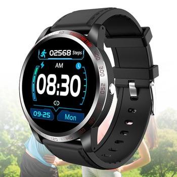 1.3 Inch Smart Watch Men Full Touch ECG Smartwatch Fitness Tracker Blood Pressure Fitness Tracker Smart Clock Women Smartwatches