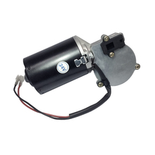 цена на 40GZ7090 DC Door Motor 24V 45RPM 40W DC Left & Right Angle Reversible Electric Gear Motor for BBQ with Double Flat Shaft