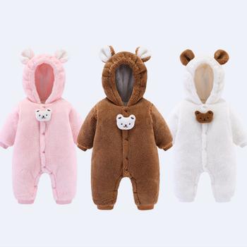 Nowa odzież dla niemowląt chłopiec dziewczyny ubrania bawełna noworodka maluch pajacyki śliczne niemowlę noworodki odzież zimowa pajacyki dla dzieci tanie i dobre opinie COTTON CN (pochodzenie) Unisex W wieku 0-6m 7-12m 13-24m Stałe baby Z kapturem Pojedyncze piersi Pełna 20916 Pasuje mniejszy niż zwykle proszę sprawdzić ten sklep jest dobór informacji