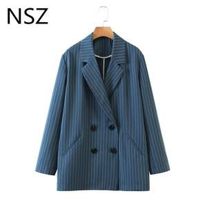 NSZ Striped Blazer J...