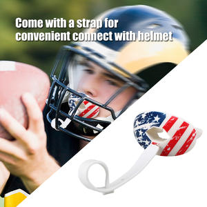 Rugby Mouth Guard Food Grade Tooth Protector Football Mouthguard Lip Protection