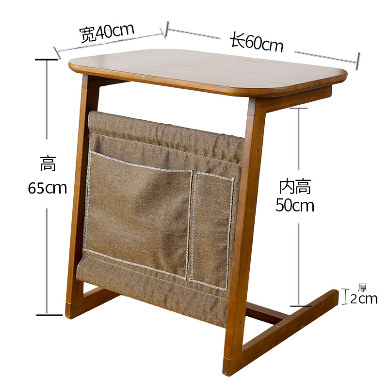 Bedside Table, Computer Desk, Small Household, Simple Sofa, Simple Lazy Bedroom, Movable Small Desk Standing Desk