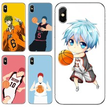 Dành Cho Samsung Galaxy Note 3 4 5 8 9 S3 S4 S5 Mini S6 S7 Edge S8 S9 S10 Plus túi Mềm Ốp Lưng Anime Kuroko No Basket(China)