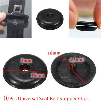 Car Retainer Seatbelt Stop Button for Peugeot 308 206 307 407 207 208 508 2008 5008 Honda Civic Fit Crv Mazda 6 3 CX-5 CX5 image