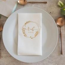 Custom 100pcs napkins,napkins, serwetki, Bedruckte Servietten, Hochzeit, custom Napkins, Wedding napkins, Decorpress, Monogram