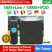 French IPTV France/Arabic/Belgium/Spain/Dutch Leadcool W IP TV Android 7.1 France French/Arabic/Dutch/Italy/France Box