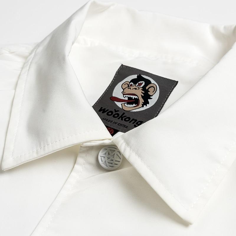 Американская уличная мода, мужская куртка, высшее качество, брендовая Дизайнерская куртка на молнии в стиле хип хоп, Мужская джинсовая курт... - 4