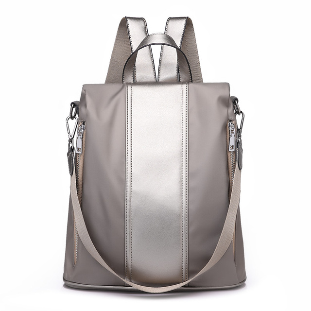 Multifuncional mochila feminina oxford à prova dsmall água bagpack feminino pequeno backpak adolescente meninas bookbag mochila antirrobo sac a dos