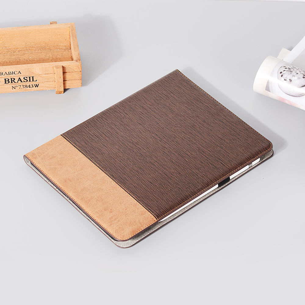 Pro 2020 9 iPad Series Case 2020 Back Brown PU For Pro Cover 12 Tablet Business For iPad