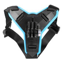 1PC Full Face Helmet Chin Mount Holder for GoPro Hero 7 6 5 Motorcycle Helmet Chin Stand Camera Accessories for Go Pro Hero 7