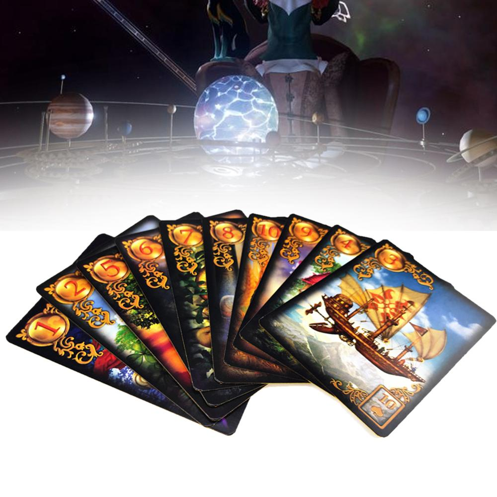 47pcs Lenormand Oracle Cards Mystery Cards Boys Collectibles Board Games Collect Cards Card Games Children's God Cards Card Game