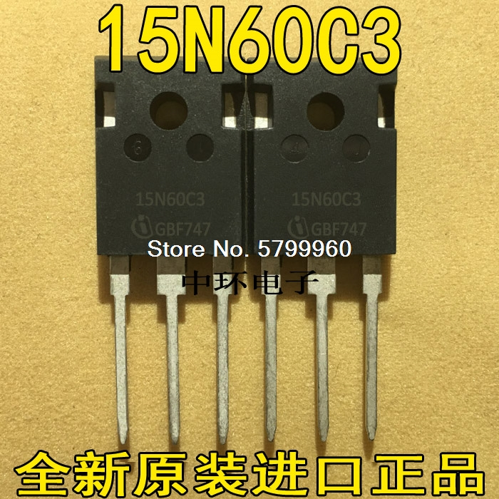 10 шт./лот SPW15N60CFD 15N60CFD 15A600V транзистор
