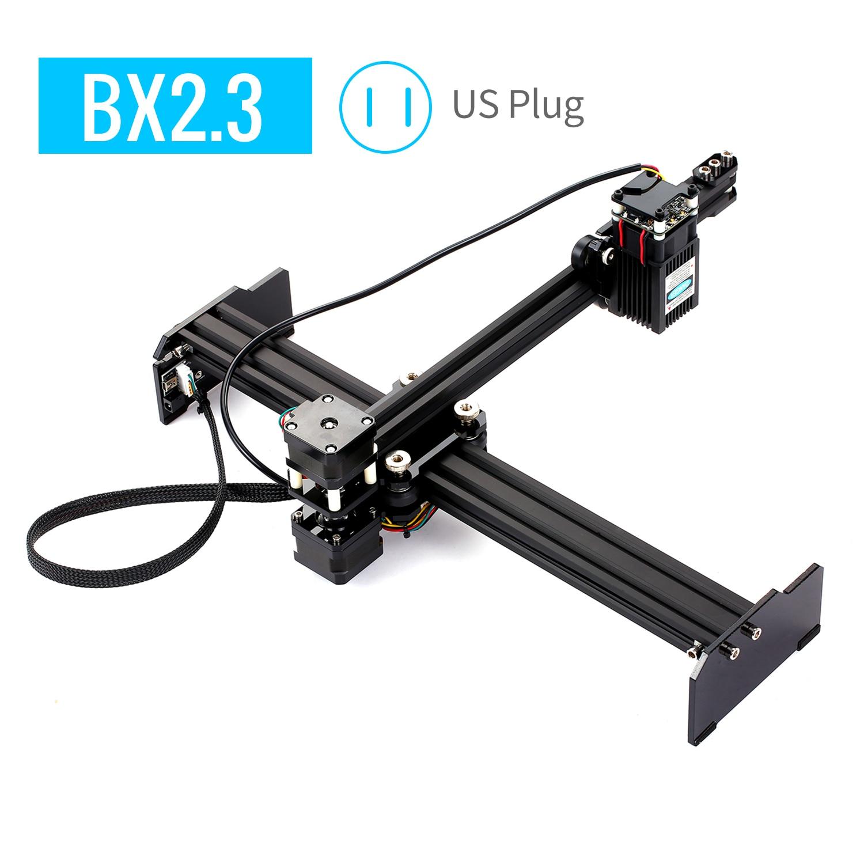 KKMOON Portable DIY Mini Desktop Laser Engraver 20W High Speed Laser Engraving Cutter Machine Printer For Wood Leather US Plug