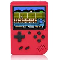 Consola de videojuegos portátil con mando de juegos, 3 pulgadas, 400 Juegos Retro en 1, pantalla LCD clásica de 8 bits a Color, regalos para niños