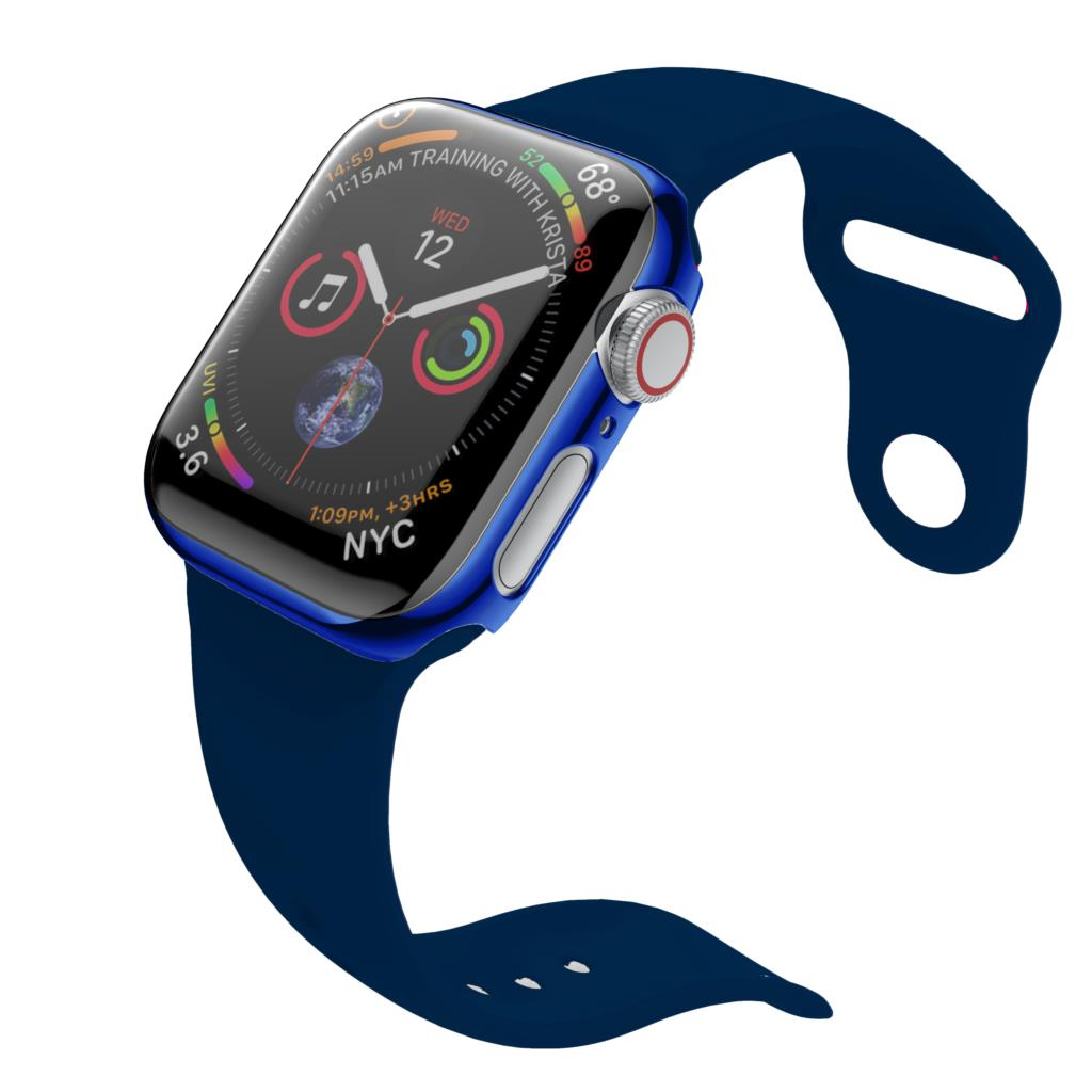 watch band case for apple watch strap iwatch 4 band 44mm 40mm 42mm 38mm silicone Protective case for apple watch series 4 3 2 in Watchbands from Watches