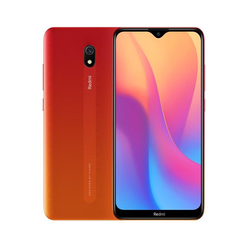 Смартфон Xiaomi Redmi 8A с глобальной версией, 2 Гб, 32 ГБ, 5000 мАч, аккумулятор высокой емкости, дисплей 6,22 дюйма, 12 МП, основная камера AI, зарядка 18 Вт - Цвет: Красный