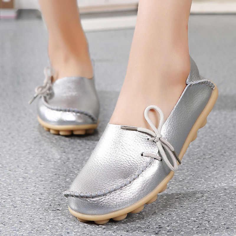 2020 Women Shoes Lace-up Flat Oxford Nurse Shoes Ladies Footwear Women's Brand Shoes Female Non-slip Designer Women Casual Shoes