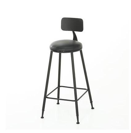 Solid Wood Bar Chair Modern Simple Personality Bar High Foot Stool Bar Stool Bar Chair Iron High Foot Chair