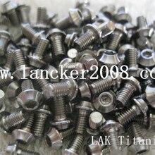 Titanium alloy Gr5 Socket UFO head screw M4*6 8 10 12 15 22