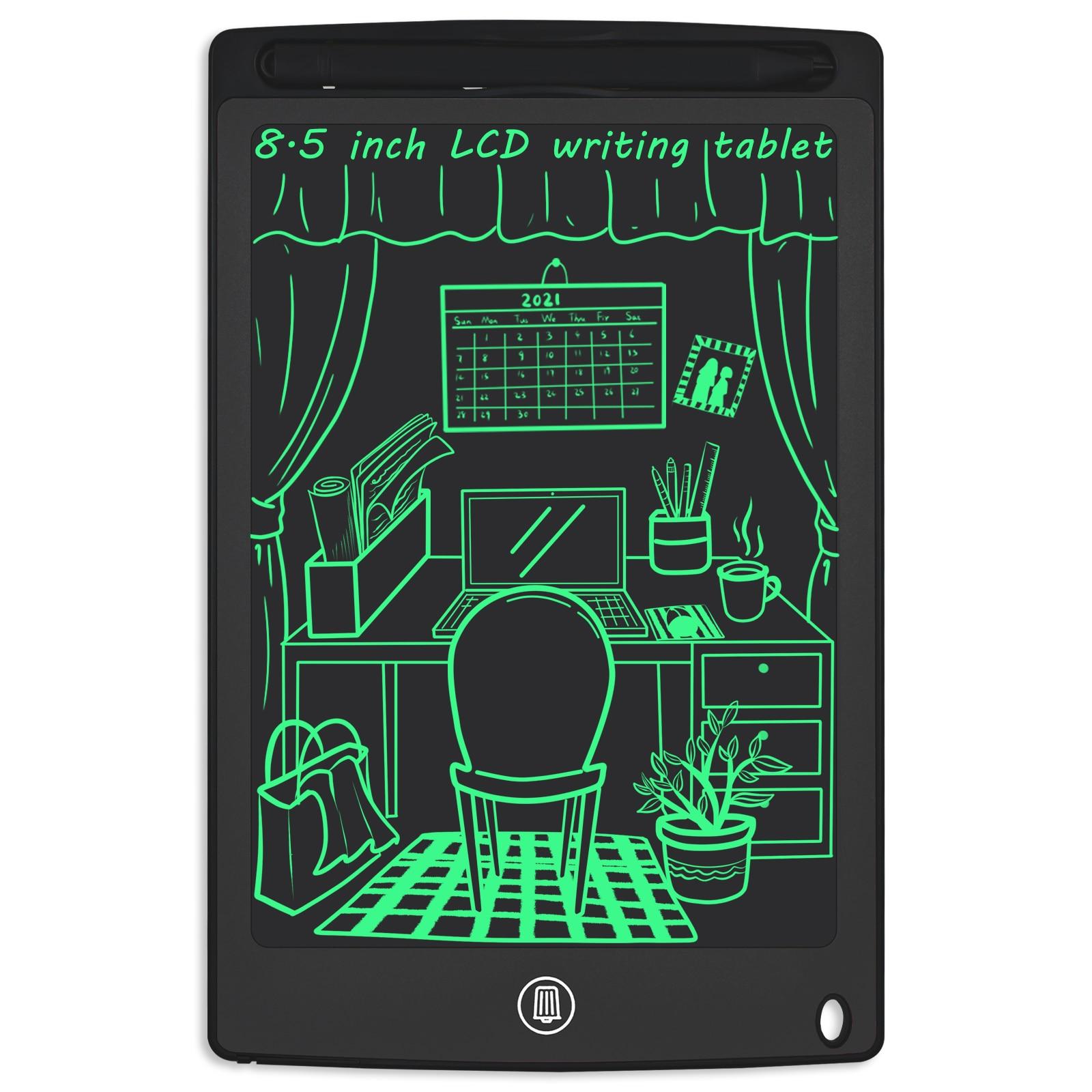 Доска для письма с ЖК планшет 8,5 дюймов электронный альбом для рисования красочные Экран рукописным вводом Рисование Memo Pad Панели для детей ...
