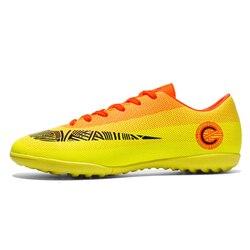 Mens Soccer Shoes Chuteira Futebol Turf Sports Football Shoes For Men Comfortable Indoor Waterproof Football Boot Sneaker