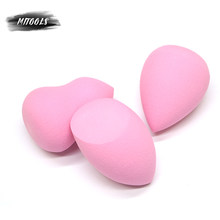 MITOOLS 3Pcs/pack Makeup Beauty Sponge Foundation Cosmetic Puff Smooth Face Contour Concealer Powder Make Up Tool Kits()