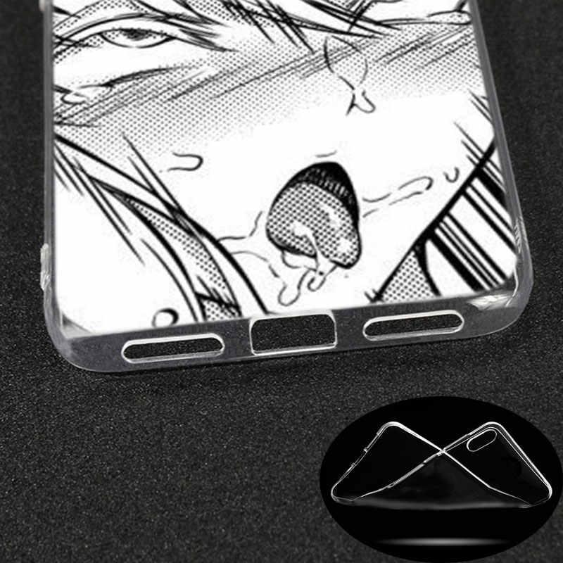 シリコーンケースアニメ少女漫画日本かわいい Xiaomi Redmi について新人 K20 プロ 7 7A 6 6A 4 × 5 プラス S2 行く注 8 7 6 5 プロ 4