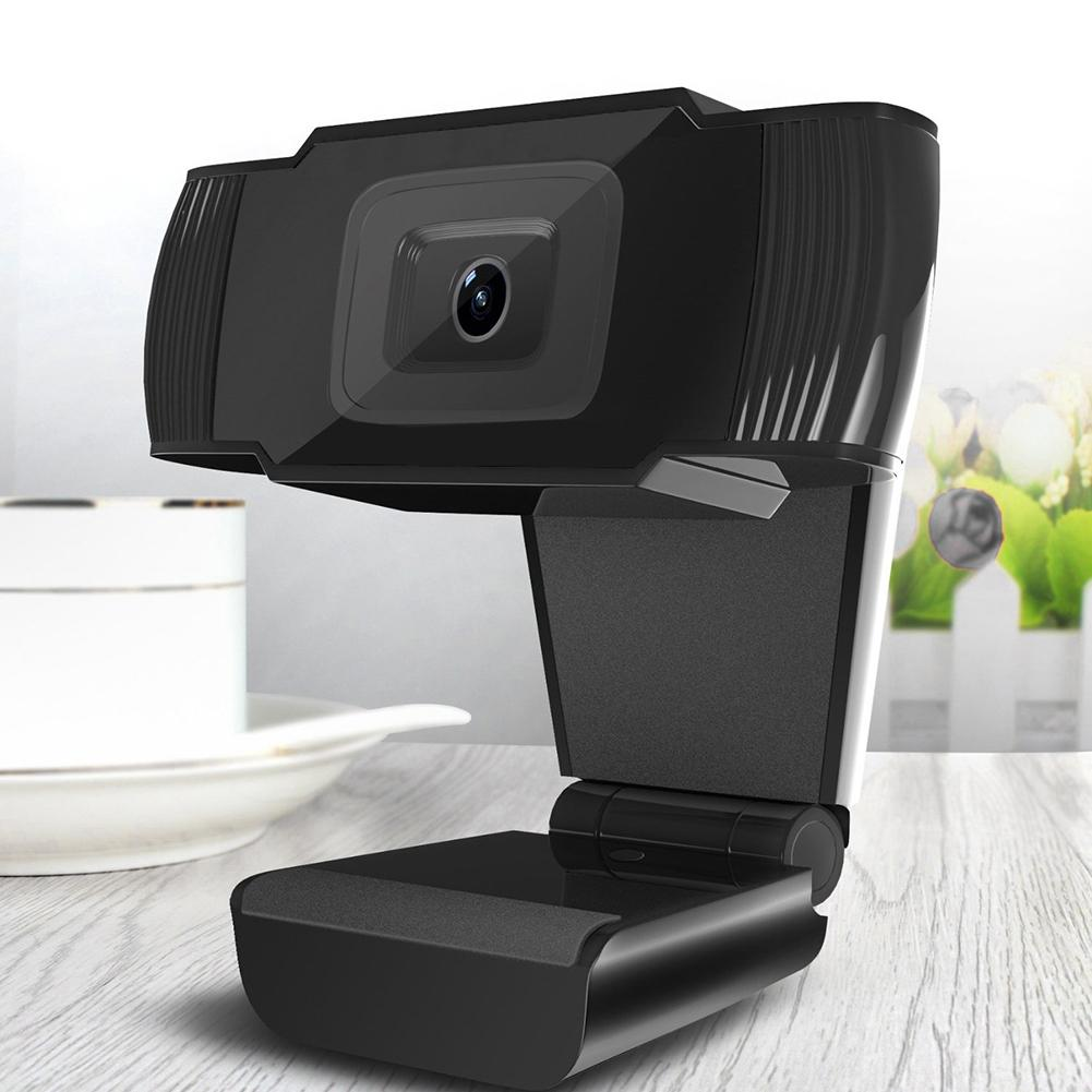 New 30 degrees rotatable 2.0 HD Webcam 1080p USB Camera Video Recording Web Camera with Microphone For PC Computer веб камера
