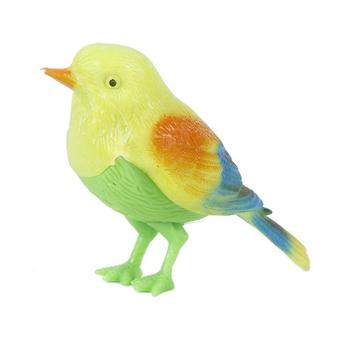 Animal Simulation Electronic Control Music Simulation Sing Bird Models DIY Wedding Home Garden Ornament Decoration Toy For Kids image