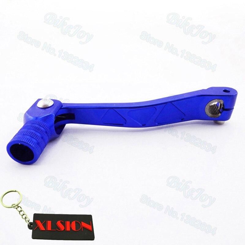 Синий ЧПУ универсальный рычаг переключения передач для 50 cc-160cc Stomp YCF, SDG GPX питбайков, мотоциклов, мотокроссов