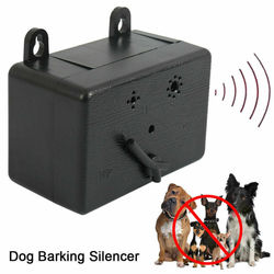 Outdoor Ultrasonic Anti-Barking Device Dog Bark Control Sonic Silencer Tools Stop Barking Dog Trainings Dog Products Pet Supplie