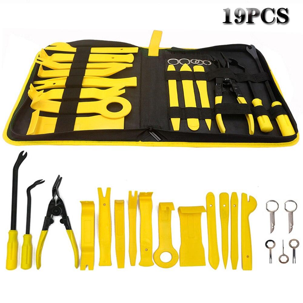 Hand Tool Removal Tool Kit Car Panel Tool 11-38pcs Disassembly Tool Set Car Door Panel Removal Tool Audio Disassembly Tool Kit