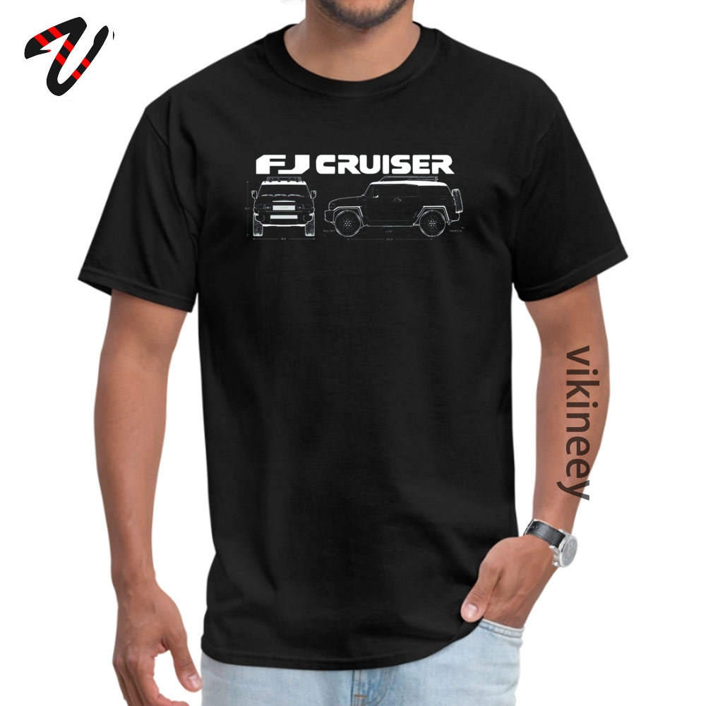Casual Fj Cruiser Round Neck Top T-shirts Summer Autumn Tops Tees Physics Sleeve for Students 2019 New Valencia Normal T Shirt