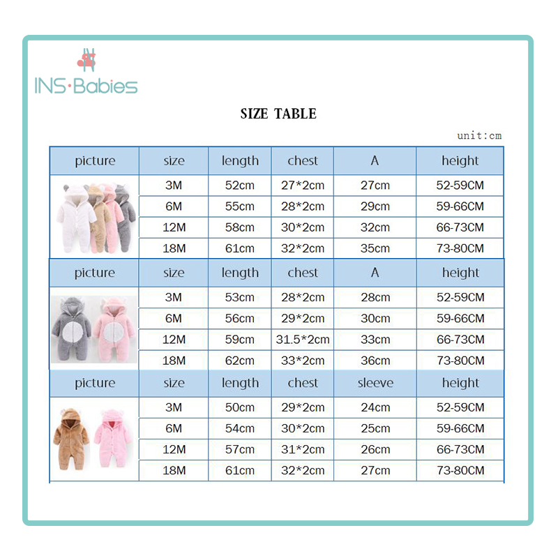 Newborn Baby Winter Hoodie Clothes Polyester Infant Baby Girls Pink Climbing New Spring Outwear Rompers